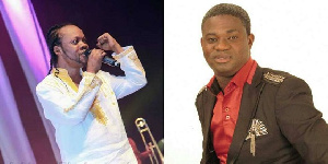Combination photo of Lumba (left) and Great Ampong