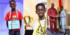 Kwabena Adu Darko-Asare is 13 years old