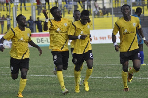 The Miners recorded a positive result in the first leg encounter