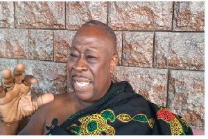 Akyempemhene of Amonorkrom, Nana Awuku Sakyi