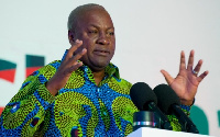 Former president, John Mahama