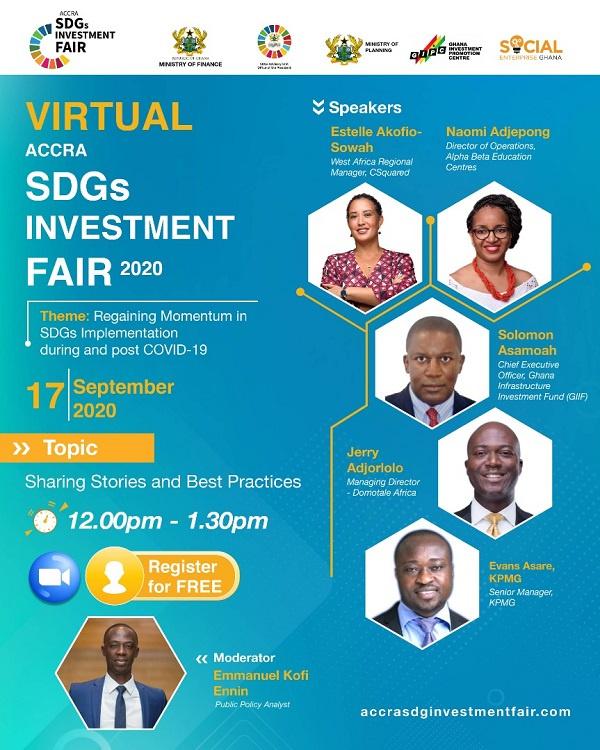 LIVESTREAMING: Virtual SDGs Investment Fair 2020