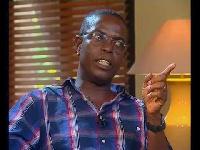Kwesi Pratt - Editor of the Insight Newspaper