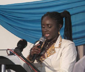 Dr Hannah Bisiw, Deputy Minister of Food and Agriculture