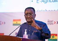 Minister for Food and Agriculture, Dr. Owusu Afriyie Akoto
