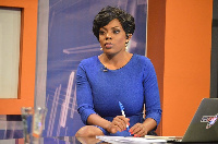 Newscaster Nana Aba Anamoah