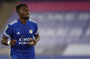 Leicester City defender Daniel Amartey