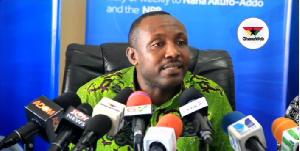 Acting General Secretary of the NPP, John Boadu