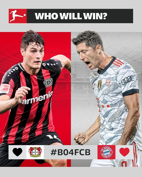 Top of the table clash in Bundesliga, only on StarTimes