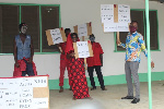Staff of Envt and Agric Uni protest over 12 months salary arrears