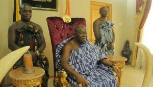 File photo: Asantehene Otumfuo Osei Tutu II