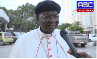 Most Rev. Philip Naameh, President of the Ghana Catholic Bishops' Conference