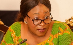 Foreign Affairs Minister Shirley Ayokor Botwe
