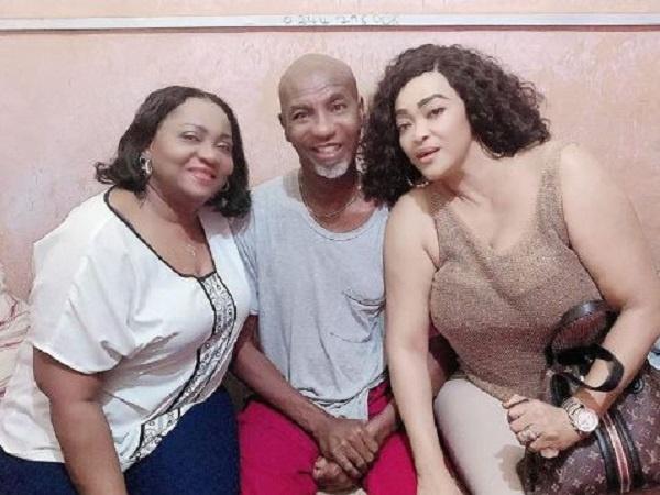 Kalsoume Sinare Baffour, Vivienne Adjo Achor visit Emmanuel Armah