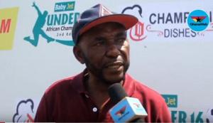 Veteran Ghanaian coach JE Sarpong