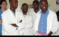 File photo: A section of doctors in a hospital
