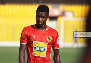 Asante Kotoko defender, Abdul Ganiu Ismail