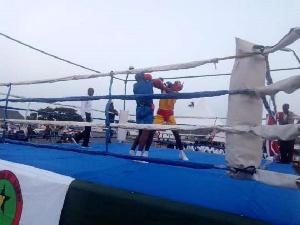 Chiranga Platoon won the Ghana Military Academy 2019 Inter-Platoon Novices Boxing Competition