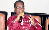 Minister of State In Charge of Tertiary Education, Prof Kwesi Yankah