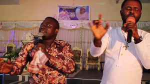 Brother Sammy and Ernest Opoku (in white)