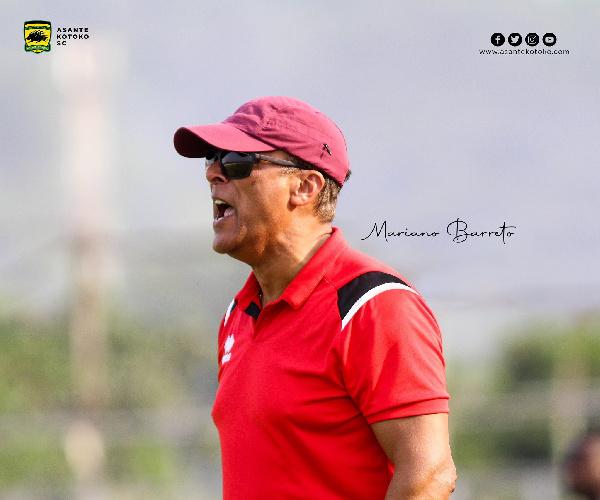 Reports: Kotoko coach Mariano Barreto wants a meeting with Manyhia Palace