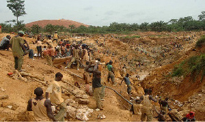 File photo: Galamsey activities have destroyed Ghana's forests and almost all water bodies.