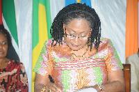 The First Lady, Mrs Lordina Mahama