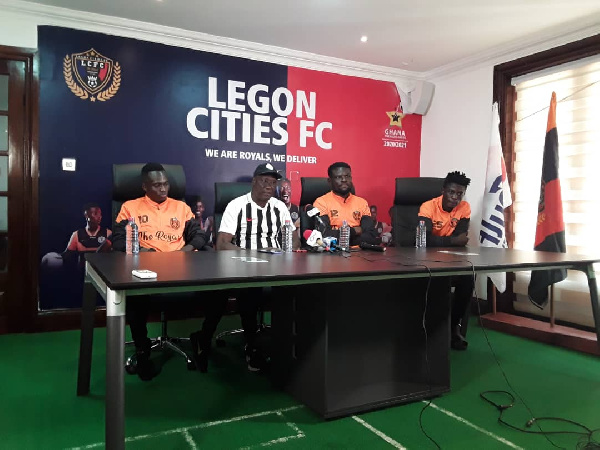 We are ready for Hearts of Oak – Legon Cities coach Bashir Hayford