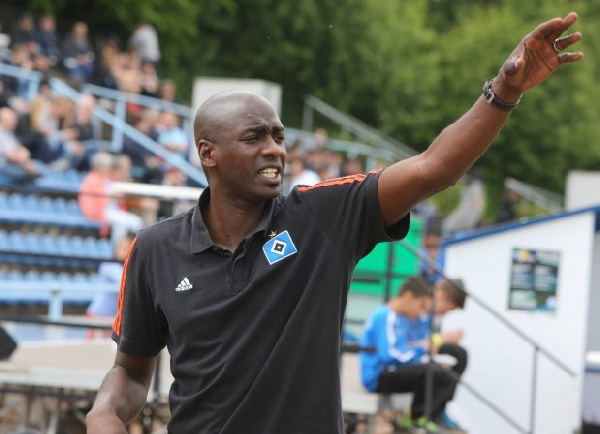 Ghana's Otto Addo, the coach responsible for guiding some of Europe's brightest young footballers
