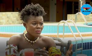 Wiyaala in an interview with GhanaWebTV