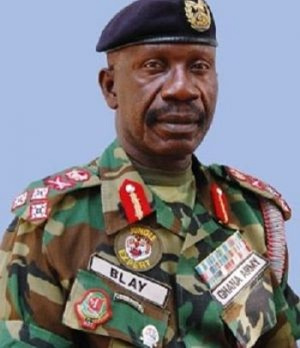 Former Chief of Defense Staff (CDS), Lt. General P. A. Blay (rtd)
