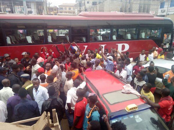 Commuters stranded as transport, business activities halt in Kumasi