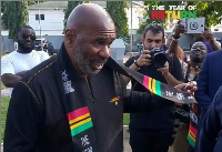 Steve Harvey among other Hollywood stars who came to Ghana to celebrate Year of Return