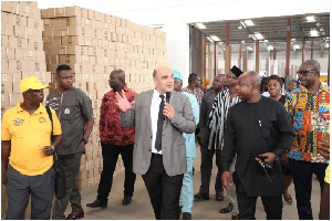 The MPs toured the facility on Friday