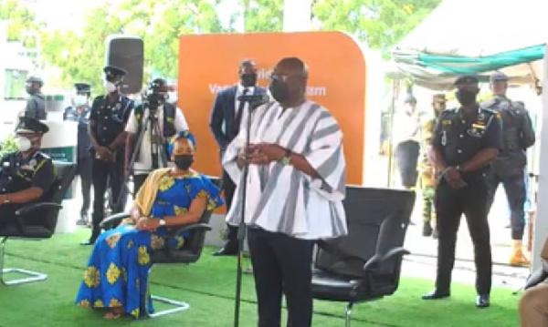 LIVESTREAMING: Vice President Bawumia and wife Samira take coronavirus vaccine