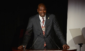 Hakeem Olajuwon. Bryan Bedder/Getty Images