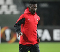 Daniel Opare is on loan from Augsburg