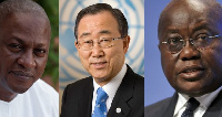 Ban Ki-Moon is urging the NPP, NDC to ensure peace during the electioneering period