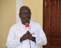 CEO of the Ghana Tourism Authority, Akwasi Agyeman