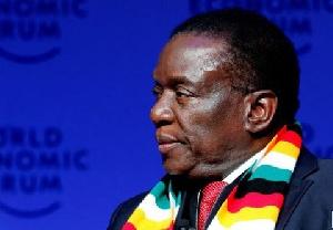 Emmerson Mnangagwa New President Zimbabwe WEF