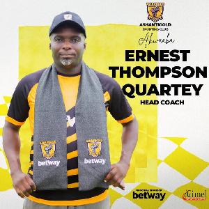 Former Ebusua Dwarfs coach, Ernest Thompson Quartey