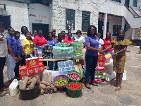 EPLM donated food items and toiletries worth GHC3,000.00 to inmates of the Akuse Female Prisons