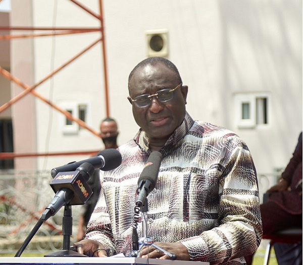Minister of Trade and Industry, Alan Kyerematen