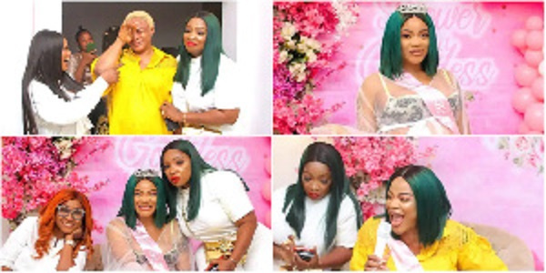 Moments from Uche Ogbodo's baby shower
