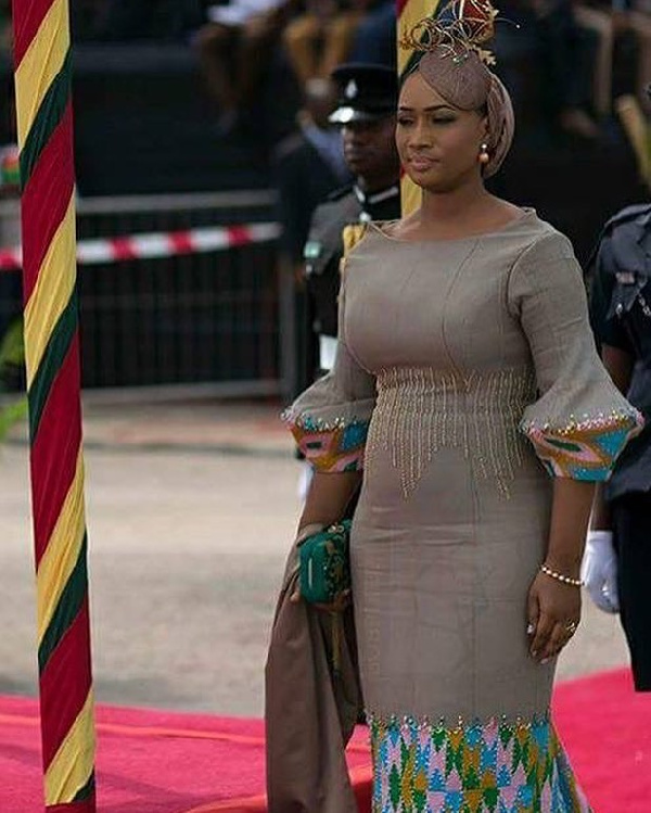 Ghana@60: Samira Bawumia shines again with stunning outfit