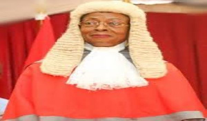 Ghana's Chief Justice, Sophia Akuffo