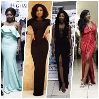Yvonne Okoro, Sandra Ankobia, Roseline and Elizabeth Okoro