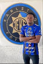 Ghanaian winger Lovette Felicia joins Karlstad BK in Sweden