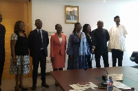 The new board of the Ghana Domain Name Registry