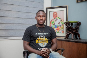 I want to hang my boots on a big note - Eric Bekoe